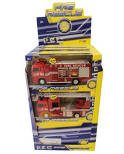 BIG MOTORS Пожарная машинка, инерционная JL81016 (JL81016)