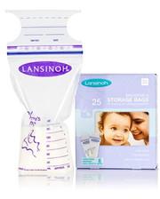 Lansinoh - Пакеты для хранения и замораживания грудного молока (25 шт., из полиэтилена)(44204)
