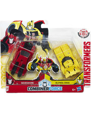 "Hasbro Трансформер Бисайд: 2 в 1 Бамблби и Сайдсвайп ""Крэш-Комбайнер"" Transformers (C0630)"