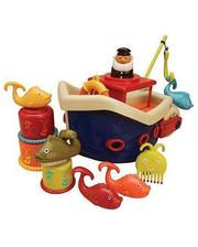 Battat Игровой набор - ЛОВИСЬ, РЫБКА (для игры в ванной,12 аксессуаров) (BX1012Z)