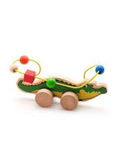 МДИ Лабиринт-каталка Крокодил, Мир деревянных игрушек (Д362)