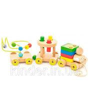 МДИ Паровозик Чух-чух 2, Мир деревянных игрушек (Д420)