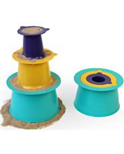 """Quut Игровой набор """"Строим замки из песка и снеги """"ALTO""""(цвет зеленый+фиолетовый+желтый) (170303)"""