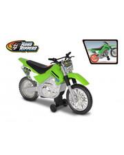 Toy State Мотоцикл Kawasaki KLX 140 Moto-Cross Bike со светом и звуком 25 см (33412)