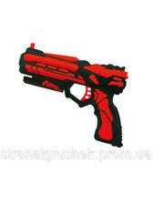 """QUNXING TOYS Игрушечное оружие """"Бластер 6-зарядный"""" (FJ801)"""