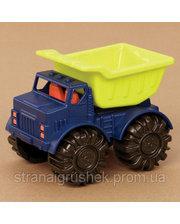Battat Игрушка для игры с песком - МИНИ-САМОСВАЛ (цвет лаймовый-океан) (BX1418Z)