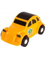 WADER Авто-жучок - машинка, Wader, желтая (39011-4)