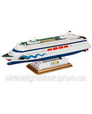 Revell Круизное судно (1996г., Финляндия) AIDA, 1:1200 (05805)