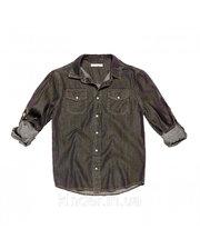 Рубашка джинс для мальчика Fox Black jeans, размер 12 (639008/1197)