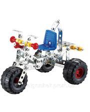 Металлический конструктор, Трехколесный велосипед, (166 дет.), Tronico (9725-3)