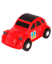 WADER Авто-жучок - машинка, Wader, красная (39011-3)