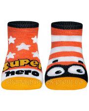 Носки детские TIP-TOP (веселые ножки), Conte, оранжевые (12 р.) (CON31074)