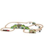 Melissa & Doug Деревянная железная дорога Горный туннель (MD611 (MD611)