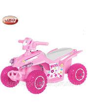 Loko Toys Детский квадроцикл Flowers (CT-726-G)