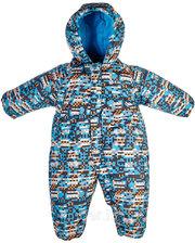 Gusti Зимний комбинезон SWB для мальчика, Salve by Gusti, голубой с оранжевым (68) (2600 SWB_блакитн./пома)