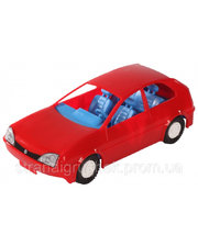 WADER Игрушечная машинка авто-купе красная, Wader, красный (39001-3)