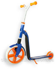 Scoot & Ride Самокат Scoot&Ride Highwaygangster Бело-Сине-Оранжевый (SR-216265-WHITE-BLUE-O)