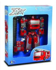 X-BOT Робот-трансформер - ПОЖАРНАЯ МАШИНА (80040R)