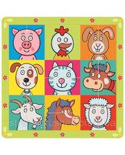 BINO Пазл - Сложи голову животным (88093)