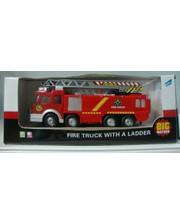 BIG MOTORS Пожарная машина с лестницей (SY732)