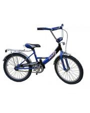 """Mars Велосипед Марс 20"""" ручной тормоз и эксцентрик (Сине-черный) (С2001 с/ч)"""