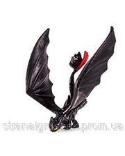 """Spin Master Коллекционная фигурка """"Как приручить дракона-2"""". Дракон Беззубик с поднятыми вверх крльями (SM66562-8)"""