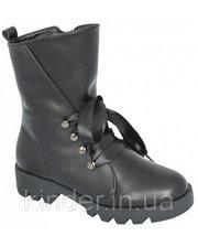 Сапоги для девочек 5518-1637, черные, Lapsi (Arial) (35) (5518-1637/35)