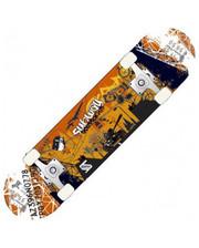 Скейтборд TEMPISH Metropol C Yellow-Orange