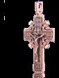 Оникс Православный крест с чернением 024627