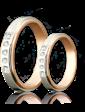 Eclipse Diamonds Обручальное кольцо с бриллиантами 023186
