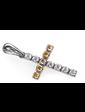 Edendiam Крест из белого золота с бриллиантами Р0366