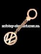 Агат Золотой брелок Volkswagen 1,6,0089