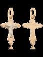 Танго Золотой православный крестик 024258