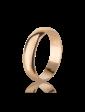 Багет Золотое обручальное кольцо 00В