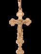 Агат Золотой крестик 1,4,0031