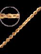 Багет Золотая цепочка Якорная 9600421-4