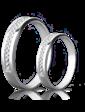 Eclipse Diamonds Обручальное кольцо с бриллиантами 023182