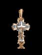 Агат Золотой крест 1,4,0396
