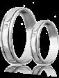 Eclipse Diamonds Обручальное кольцо с бриллиантом 023187