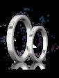 Eclipse Diamonds Обручальное кольцо с бриллиантами 023181