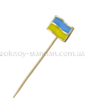 Золота лелека Золотой значок Флаг Украины 09023