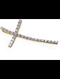 Edendiam Золотой крест с бриллиантами Р0365