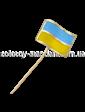 Золота лелека Золотой значок Флаг Украины 09022