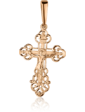 Агат Золотой крестик 1,4,0606