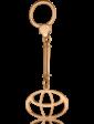 Агат Золотой брелок TOYOTA 1,6,0088
