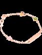Оникс Золотой детский браслет с эмалью 025191