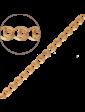 Багет Золотая цепочка Лав 9600501-2
