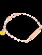 Оникс Золотой детский браслет с эмалью 025193