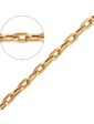 Золота лелека Золотая цепочка Якорная 12639