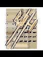 Агат Золотой значок Герб Украины 1,6,0140